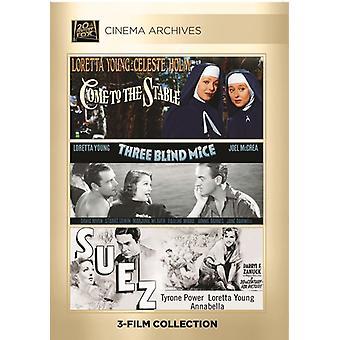 Venir à l'écurie / trois souris aveugles / importer des Etats-Unis des Suez [DVD]