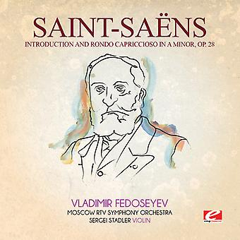 Saint-Saens - Introduction Rondo Capriccioso in a Min 28 [CD] USA import