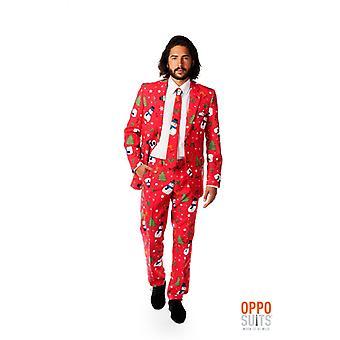 Opposuit キリスト教マスター クリスマス スーツ スリムライン プレミアム 3 ワンピース EU サイズ