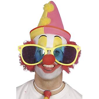 Giant glasses clown glasses to the clown circus costume