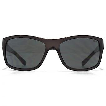SUUNA Morocco Plastic Wrap With Trim Sunglasses In Grey