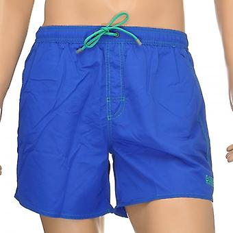 HUGO BOSS Lobster Swim Shorts, Blue, Small