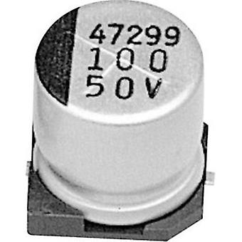 Electrolytic capacitor SMD 1000 µF 6.3 V 20 % (Ø x H) 10 mm x 10 mm Samwha CD0J108M10010VR 1 pc(s)