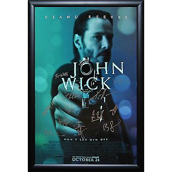 John Wick - Signed Movie Poster