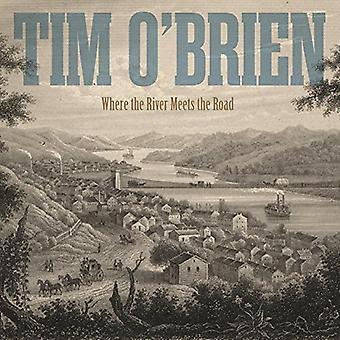 Tim O'Brien - hvor floden møder vejen [CD] USA importen