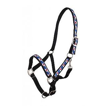 QHP Bridle Black Full lined Frisian
