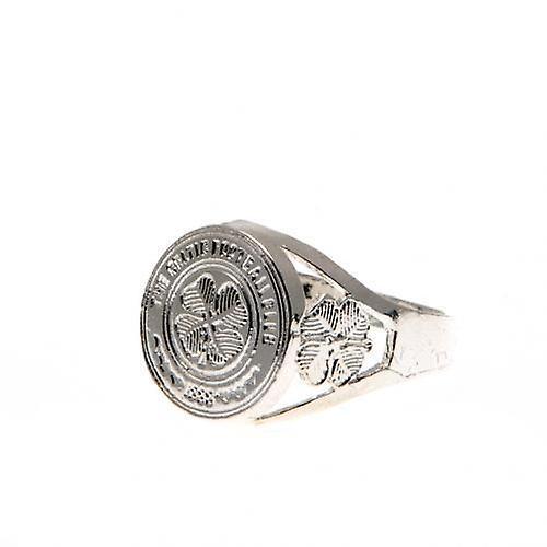 Mezzo anello celtico argento placcato Crest