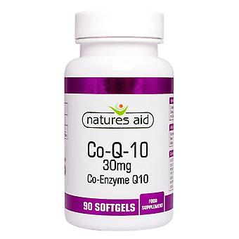 Natures aiuti CO-Q-10 30mg (coenzima Q10), 90 Capsules