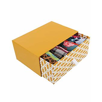 So Subtle Gift Box | 4 pairs women's crazy crew socks by Dub & Drino