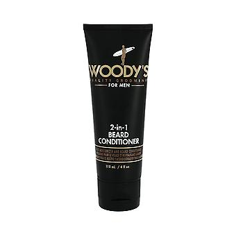Woody's 2-in-1 Beard Conditioner 118ml