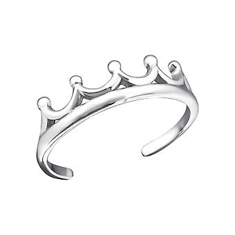 Crown - 925 Sterling Silver Toe Rings