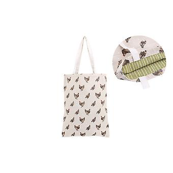 CGB Giftware Holly House Chicken Shopping Bag