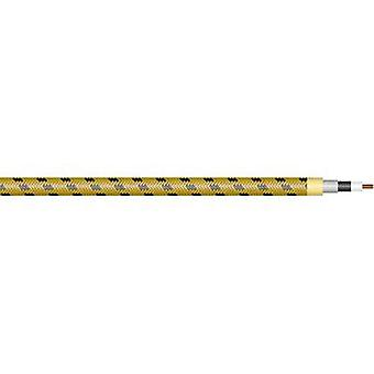 Instrument lead 1 x 0.50 mm² Black-yellow Sommer Cable