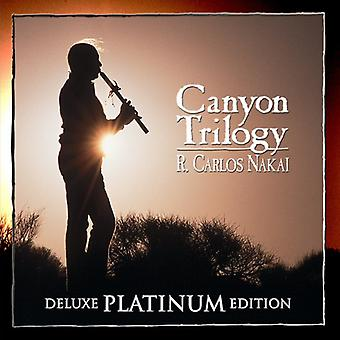R. Carlos Nakai - Canyon trilogi [Deluxe) [CD] USA import