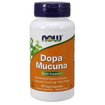 Now Foods Dopa Mucuna 90 Capsules (Sport , Athlete's health , Memory and concentration)