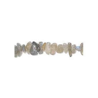 Strand 130+ Grey Labradorite Approx 3-8mm Chip Beads FM8615A