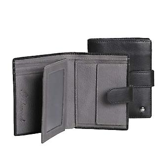 Ashwood Richmond Leather Mens Wallet With Coin Pouch