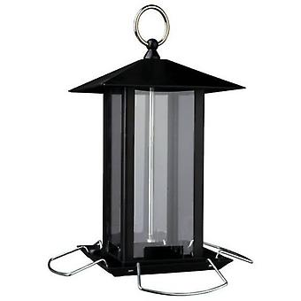 Trixie Black Metal Food Dispenser for birds