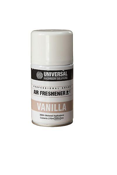 Unisol Air Freshener Refills 270ml | Aerosol Fragrance Refills Vanilla | Case Of 12