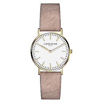 LIEBESKIND BERLIN ladies watch wristwatch leather LT-0088-LQ