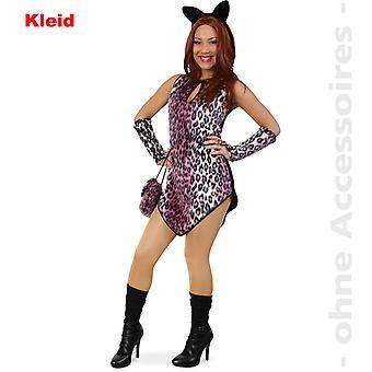 ヒョウの女性衣装レオ ヒョウ セット野生の猫野生の猫女性コスチューム