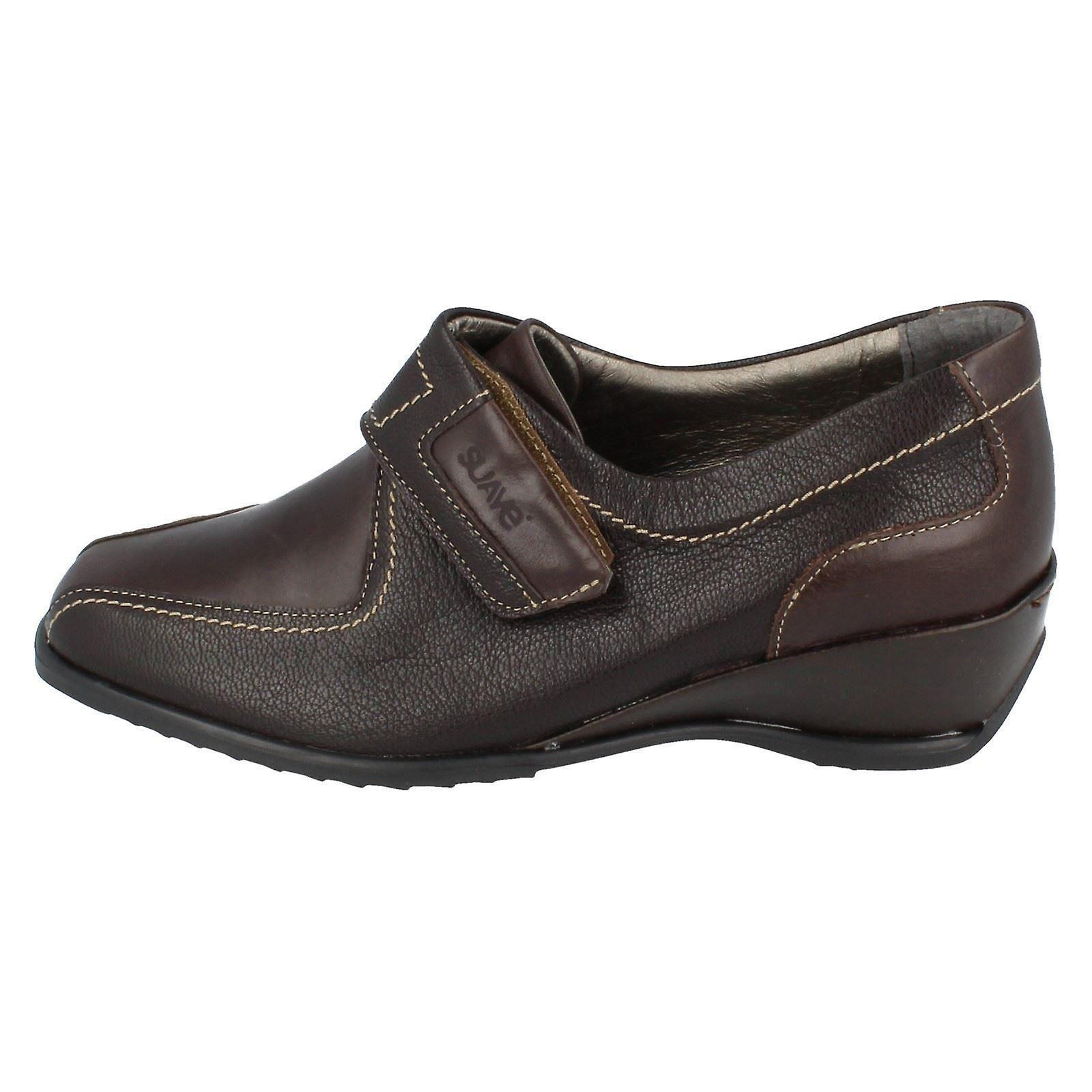 Ladies Suave Casual Riptape Strap Shoes Shelly