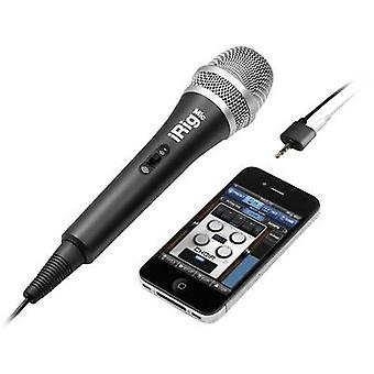Handheld Mobile phone microphone iRig Mic Transfer type:Corded incl. clip