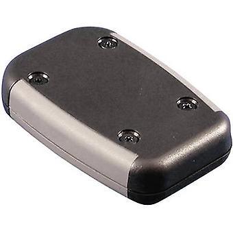 Mano de cubierta 75 x 50 x 17 acrilonitrilo-butadieno-estireno negro Hammond Electronics 1553AABK 1 PC