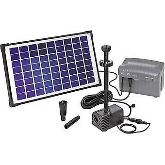 Esotec ナポリ LED 101774 ソーラー ポンプ セット税込照明、バッテリ-を含む 750 l/h