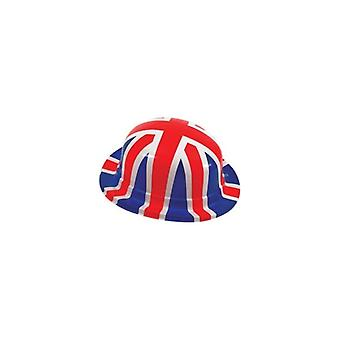 Union Jack Pack 6 Union Jack-Bowler-Hüte tragen