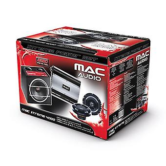 Mac audio MAC Xtreme 4000, speaker, subwoofer and amplifier, 1 set B-stock