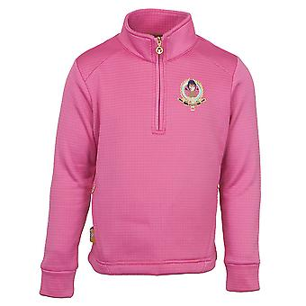 Toggi plomme Childrens kvartal Zip Fleece Bubblegum