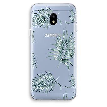 Samsung Galaxy J3 (2017) Transparent Case (Soft) - Simple leaves