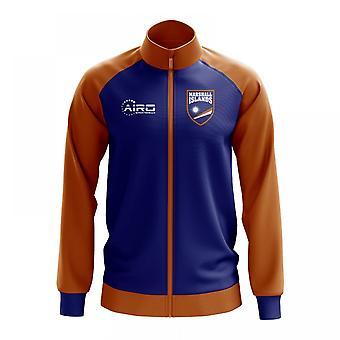 Marshallöarna konceptet fotboll Track Jacket (blå)