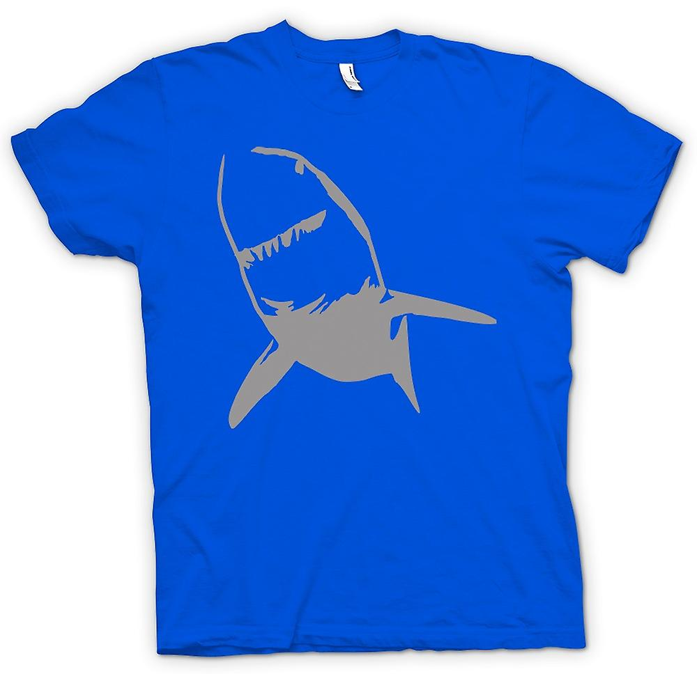 Hommes T-shirt - Great White Shark tueur