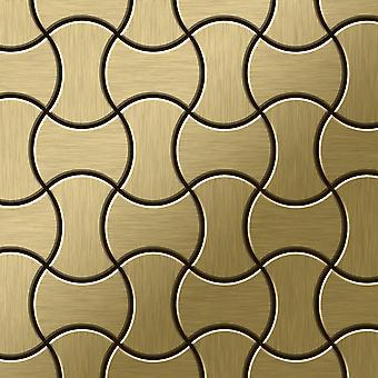 Metal mosaic Titanium ALLOY Infinit-Ti-GB