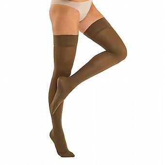 Solidea Marilyn Therapeutic Compression Thigh Highs Ccl2 Plus Line [Style 339B8] Nero (Black)  XL