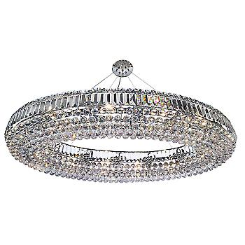Searchlight 9190CC Safia Large Crystal Ceiling Light