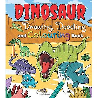 Dinosaur Drawing, Doodling and Colouring Book (Activity Books)