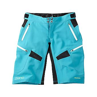 Madison Caribbean Blue 2017 Zena Damen MTB Shorts
