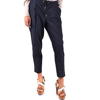 Moncler Blue Cotton Pants