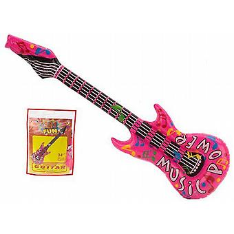 Inflatable Pink Guitar 32