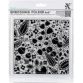 Xcut 6x6 Inch Embossing Folder Autumn Berries (XCU 515193)