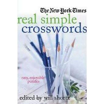 The New York Times Real Simple Crosswords - Easy - Enjoyable Puzzles b