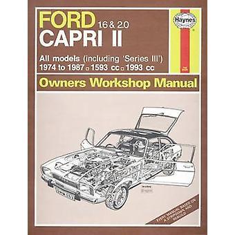 Ford Capri II/III Owner's Workshop Manual - 9780857336491 Book