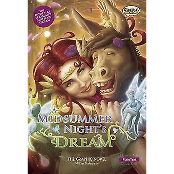 A Midsummer Night's Dream the Graphic Novel - Plain Text by Ronald Bat