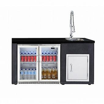 BeefEater Artisan Kitchen Fridge & Sink Module Only