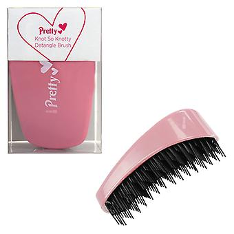 Pretty Knot So Knotty Detangle Brush ~ Pastel Pink