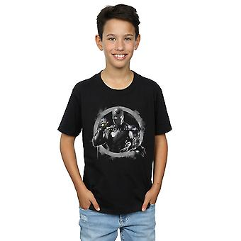 Marvel Boys Avengers Endgame Iron Man Nano Gauntlet T-Shirt
