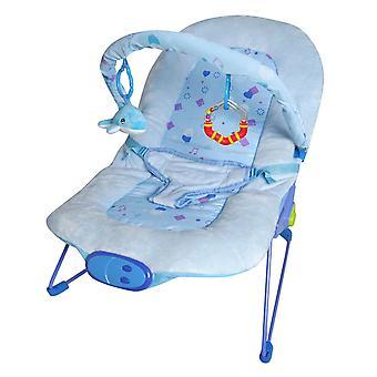 LaDiDa Opiekunka do dziecka niebieski Little Star Baby Bouncer